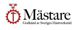 Mästare. Godkänd av Sveriges Hantverkstad.